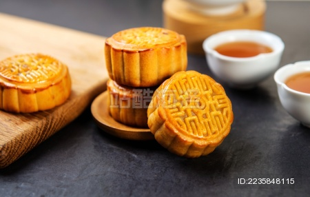 中秋节月饼照片