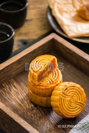 中秋节的月饼