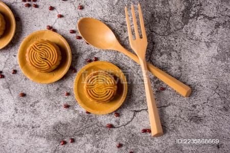 中秋美食月饼