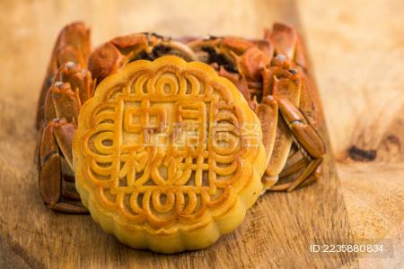 月饼与大闸蟹