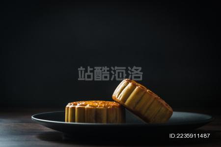 中秋节的美味月饼