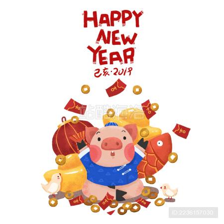 2019猪年新年