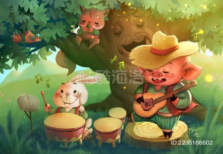 快乐猪猪春之乐章