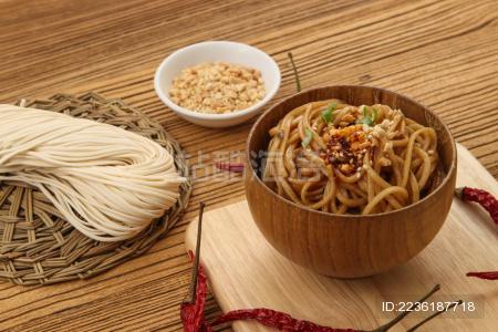 中式小吃拌面