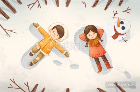 雪地里的白日梦