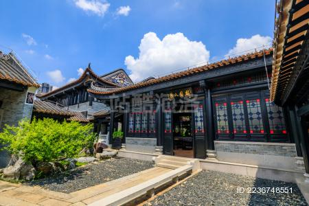 位于广州市荔湾区的广东粤剧艺术博物馆