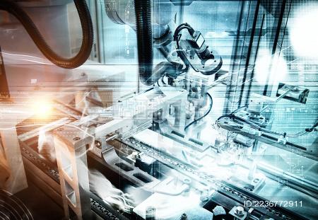 工业机器人自动化生产设备