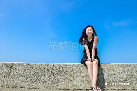 中国台湾垦丁海岸线风景