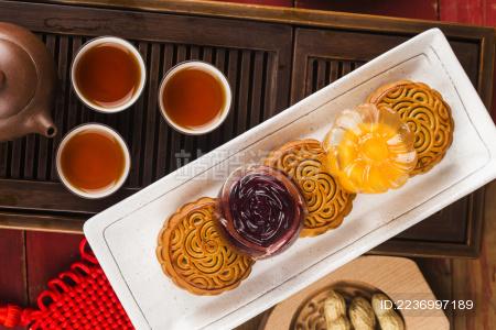 八月十五中秋节月饼
