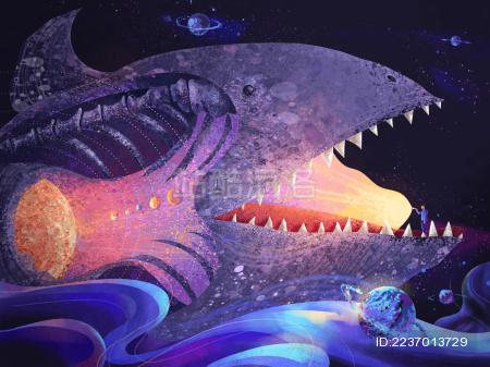 大鱼腹中装着宇宙 照亮前路探索宇宙奥秘