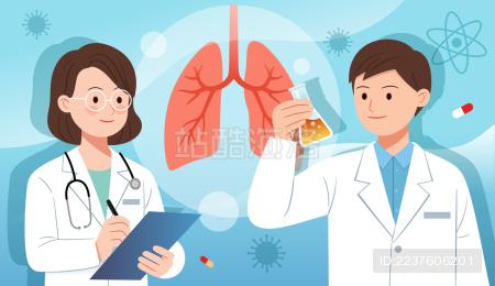 两个医学科研人员做实验