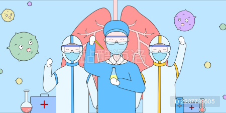 医护人员研制战胜病毒的药品