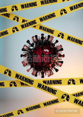 隔离新冠病毒海报