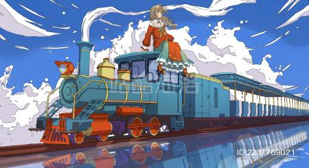 春天的列车