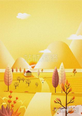 风景画-秋