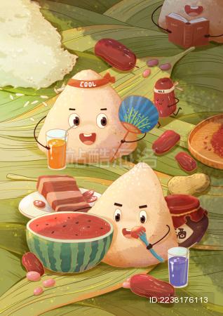 端午节粽子们