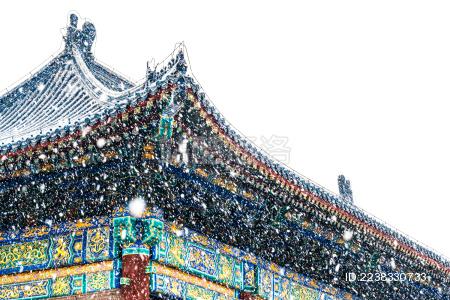 中国北京天坛建筑