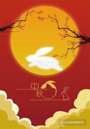 大白兔飞过月亮