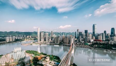 中国重庆渝中区风光